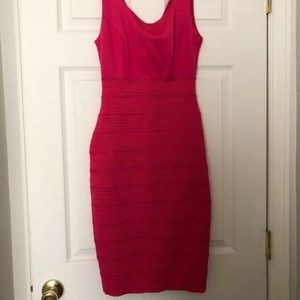 New York & Co. Pink Halter Dress Size XS